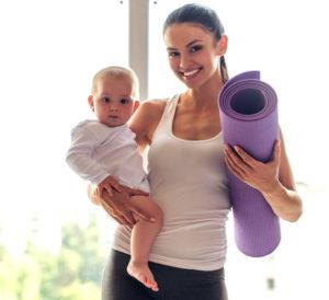 Mama Baby Yoga mit Rückbildung @ Yoga Sommerschnee